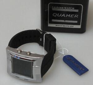 【送料無料】腕時計 ダファッションスポーツウォッチprl orologio da polso fashion sport watch quamer multifunzione display montre
