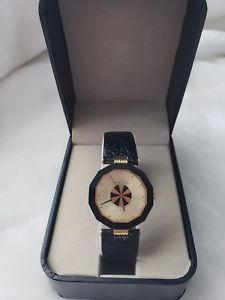 【送料無料】腕時計 ベースメタルサファイアクリスタルレザークオーツroven dino yellow base metal sapphire crystal leather quartz watch liv