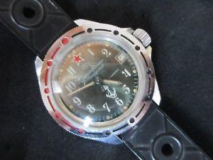 【送料無料】腕時計 ロシアマニュアルマニュアルダイバーヴィンテージウォッチrussian watch orologio russo montre manuale manual diver uhr vintage