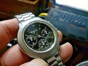 【送料無料】腕時計 レディースビッグクロノグラフladies big 37mm agnes b chronograph v6546100 6 wrist