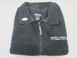 【送料無料】腕時計 メルシエフリースベストサイズbaume amp; mercier watch company fleece vest size l arge made by lands end