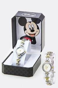 【送料無料】腕時計 クリスタルトーンブレスレット