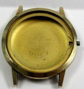 【送料無料】腕時計 ビンテージゴールドプレートケースvintage gents no name 10 kt yellow rolled gold plate wrist watch case only