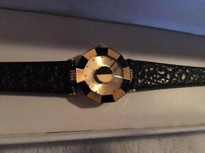 【送料無料】腕時計 ベースメタルサファイアクリスタルレザークオーツroven dino yellow base metal sapphire crystal leather quartz watch ll