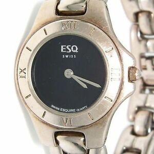 【送料無料】腕時計 エスクァイアスイスレディースステンレススチールウォッチesq esquire swiss ladies stainless steel watch 100551
