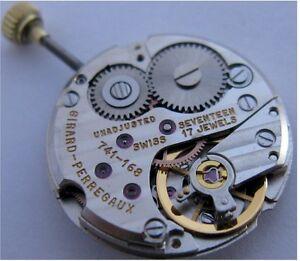 【送料無料】腕時計 ムーブメントgirard perregaux 741 168 watch movement 17 jewels for part