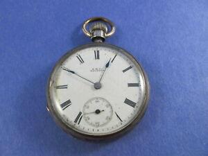 【送料無料】腕時計 スターリングawco waltham 14s sterling early cased 1879 hillside
