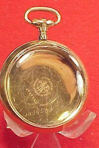 【送料無料】腕時計 ヴィンテージサイズニューヨークゴールドケースポケットウォッチウォッチ