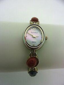 【送料無料】腕時計 ビンテージアナログウォッチゴールドトーン