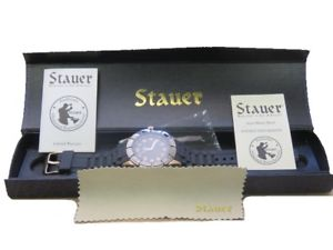 【送料無料】腕時計 ステンレススチール stauer 23523 blazon 47mm high polished stainless steel wrist watch