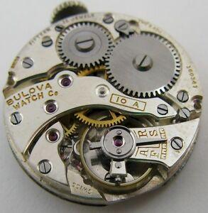 【送料無料】腕時計 bulova 10a watch 15 jewels movement for parts