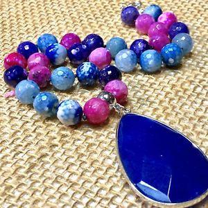 【送料無料】腕時計 ハンドメイドビーズペンダントhandmade genuine dzy agate beads amp; huge pendant
