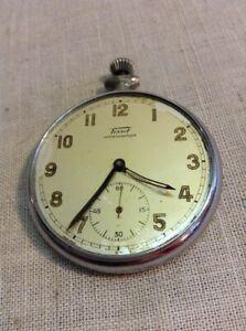 【送料無料】腕時計 アンティークロクルニッケルシルバーケースティソムーブメント