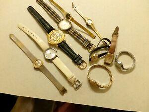【送料無料】腕時計 ビンテージロット#vintage lot of watchesmovements etc~inv88~