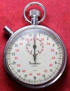 【送料無料】腕時計 ストップウオッチストップウオッチhanhart 110 second 7j stopwatch stop watch german works
