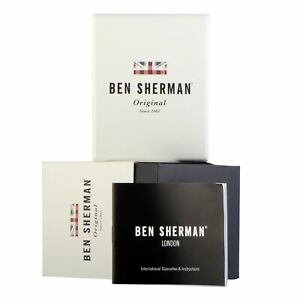 【送料無料】腕時計 ベンシャーマンカーナビードライバーben sherman carnaby driver watches wb052sm