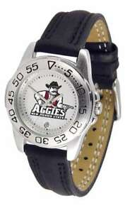 【送料無料】腕時計 メキシコレディーススポーツウォッチ mexico state aggiesladies sport watch