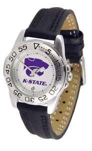 【送料無料】腕時計 カンザスレディーススポーツウォッチkansas state wildcatsladies sport watch