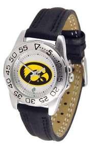 【送料無料】腕時計 アイオワレディーススポーツウォッチiowa hawkeyesladies sport watch