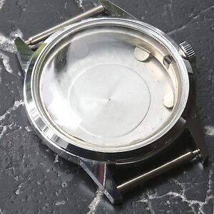 【送料無料】腕時計 スイスケースビンテージグリーンクリスタルクラウンリングswiss steel vintage gruen watch case crystal crown amp; movement ring 1950s 5 sold