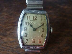 【送料無料】腕時計 ヴィンテージアールデコイングラハムメンズアメリカウォッチvintage 1920s art deco ingraham mens wrist watch usa