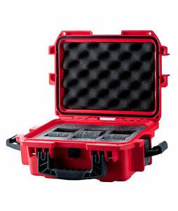 【送料無料】腕時計 スロットプラスチックボックスケースinvicta dc3red 3 slot red plastic box watch case
