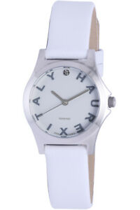 【送料無料】腕時計 イタリアシティホワイトレザーhaurex italy womens 6a505dsw city crystals white leather wristwatch