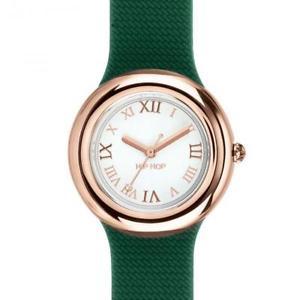 【送料無料】腕時計 オロロジオヒップホップシリコンデドナレディorologio hip hop metal hwu0717 32mm silicone verde ros donna lady