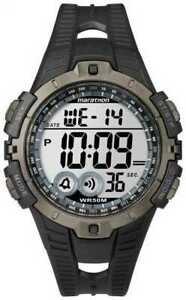 【送料無料】腕時計 アラームクロノグラフメンズウォッチマラソンtimex mens indiglo marathon alarm chronograph t5k802 watch