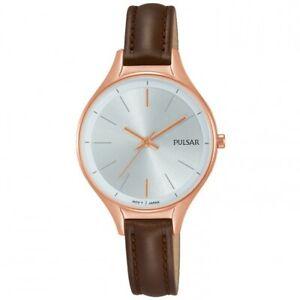 【送料無料】腕時計 パルサーレディースストラップ×pulsar ladies leather strap watch  ph8282x1pnp