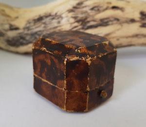 【送料無料】腕時計 アンティークジェイムズウォーカーリングボックスused antique james walker brown ring box