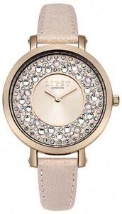 【送料無料】腕時計 アナログクォーツピンクストラップlipsy womens analogue quartz watch with pink pu strap lp492 rrp 45