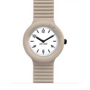 【送料無料】腕時計 オロロジオヒップホップカサウォッチベージュorologio hip hop essential hwu0643 watch small cassa da 32 mm beige