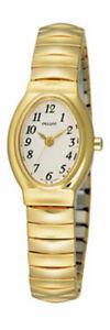 【送料無料】腕時計 パルサーレディースブレスレットpulsar ladies gold plated expanding bracelet watch  prs586x1pnp