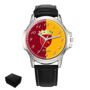 【送料無料】腕時計 ローマローマアームイタリアメンズフラグコートcity of rome roma flag coat of arms italy gents mens wrist watch gift engraving