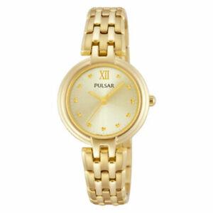 【送料無料】腕時計 パルサーレディース×pulsar ladies gold plated watch  ph8118x1pnp