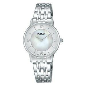 【送料無料】腕時計 パルサーレディースステンレススチールpulsar ladies stainless steel watch  prw025x1pnp