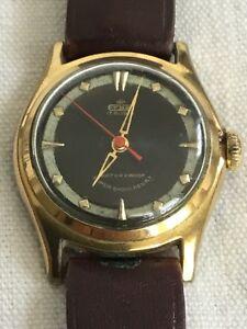 【送料無料】腕時計 ヴィンテージヘリテージルビーレディースミクロンvintage erbe 17 rubies ladies windup wrist watch gold plated 20 microns