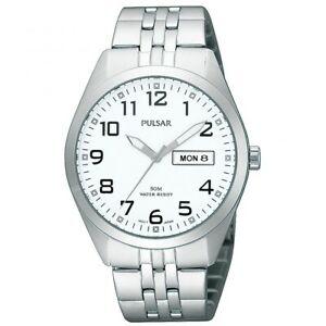 【送料無料】腕時計 パルサーステンレススチール×pulsar gents stainless steel watch  pv3005x1pnp