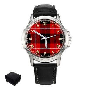 【送料無料】腕時計 タータンチェックメンズcunningham scottish clan tartan gents mens wrist watch gift engraving