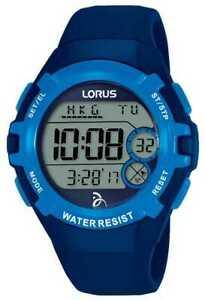 【送料無料】腕時計 デジタルストラップウォッチlorus kids djokovic foundation digital blue strap r2391lx9 watch