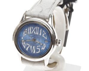 【送料無料】腕時計 ドナテンポアズーロicina del tempo orologio da donna ot102601csww qdtazzurro e datario m002