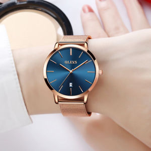 【送料無料】腕時計 ウォッチレディースゴールドスチールクオーツジュネーブ