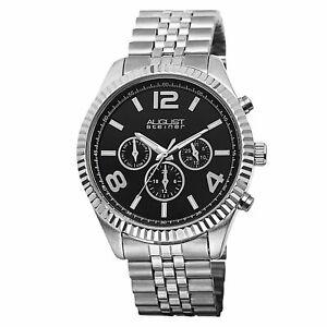 【送料無料】腕時計 シュタイナースイスクォーツマルチファンクションブレスレットwomens august steiner as8096ssb swiss quartz multifunction ss bracelet watch