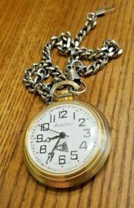 【送料無料】腕時計 ビンテージミッシェルレネポケットウォッチチェーン