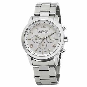 【送料無料】腕時計 シュタイナースイスマルチファンクションステンレススチールウォッチ mens august steiner as8098ss swiss multifunction stainless steel watch