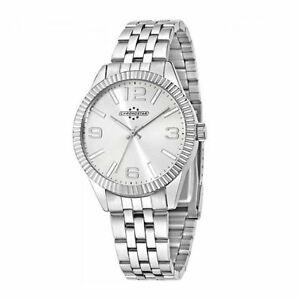 【送料無料】腕時計 オロロジオクロノスターラグジュアリーorologio chronostar luxury uomo r3753240507 nuovo watch acciaio silver