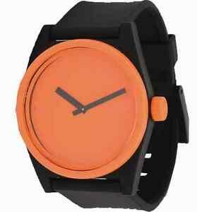 【送料無料】腕時計 ネフデュオオレンジネフmontre neff watch duo orange etanche neff qnf0217