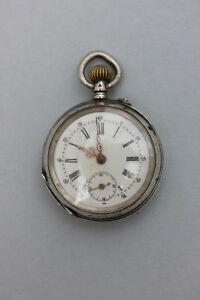 【送料無料】腕時計 silbertaschenuhr, um 1900