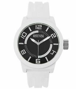 【送料無料】腕時計 ケネスクビカホワイトクォーツ kenneth cole reaction rk1431 white quartz watch no box